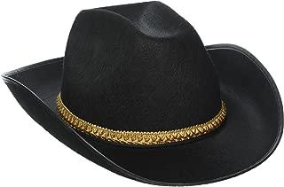 Forum Novelties White Felt Cowboy Costume Hat - Adult Std.