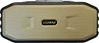 Gigamax GM-307 8W Portable Bluetooth Speaker System USB Port, AUX input jack, TF Micro Card SD - Black Gold