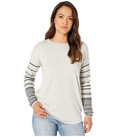 Smartwool Shadow Pine Crew Sweater (Ash Heather) Women