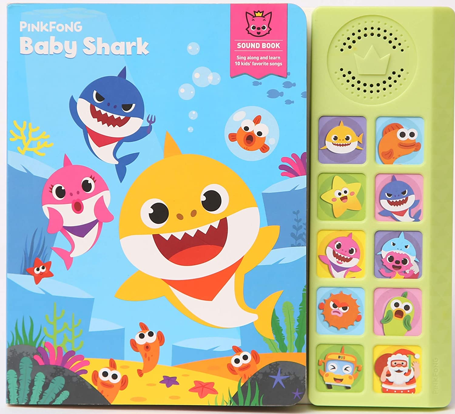 Pinkfong Baby Shark Sing-Alongs Sound Book (Old)
