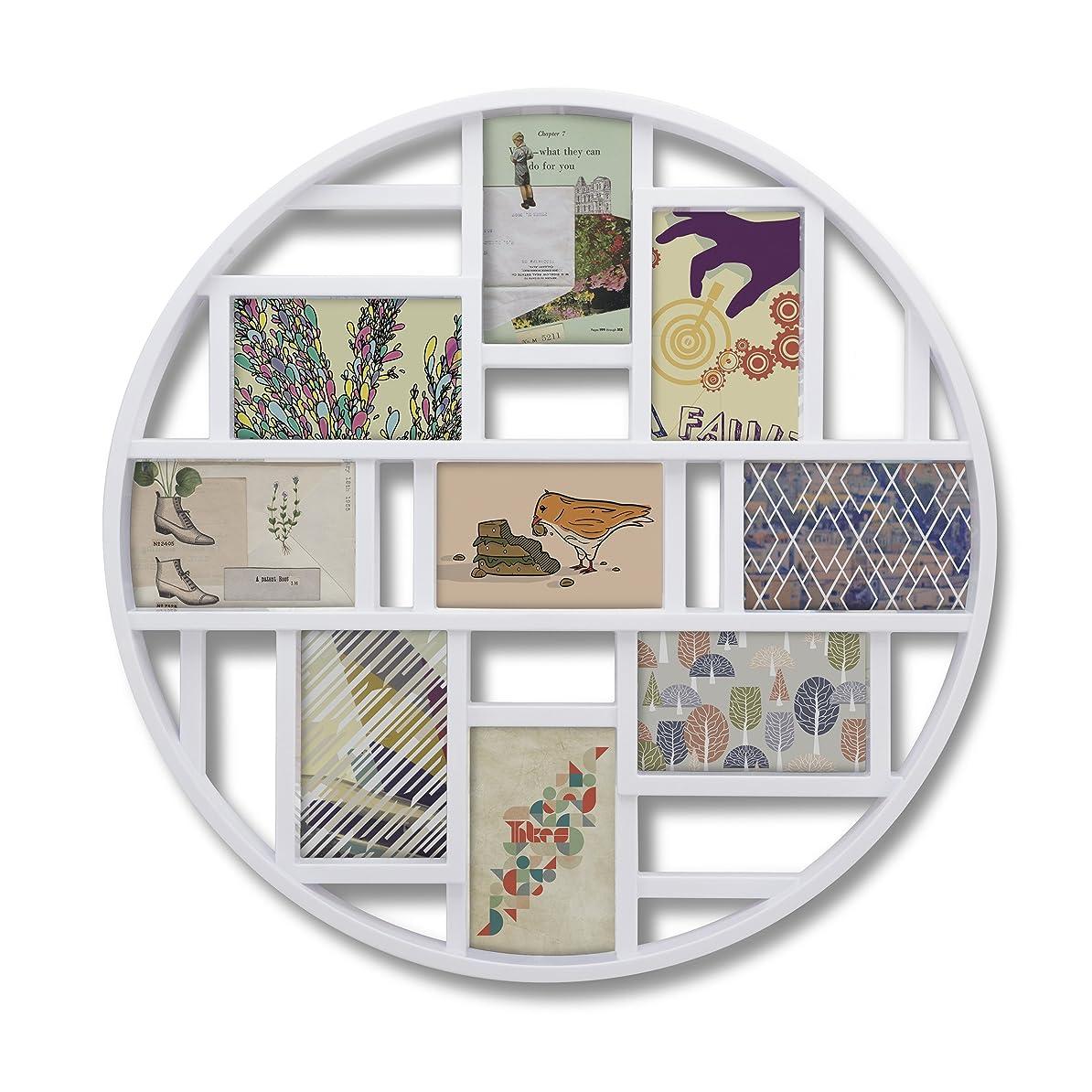 効率的対人ランドリーumbra 壁掛けフォトフレーム LUNA FRAME ART(ルナウォールフレーム アート) ホワイト 2311120-660