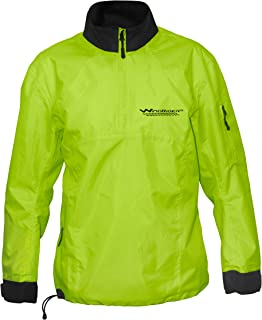 WindRider Waterproof Paddling Sailing Spray Top | Neck and Wrist Seals | Front Zipper | Shoulder Pocket