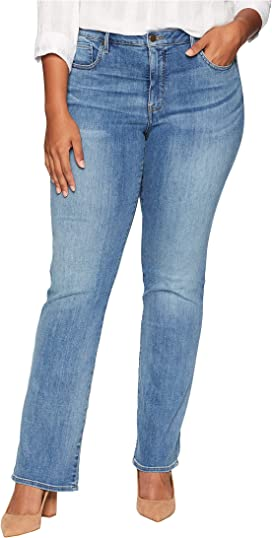 798a860618 NYDJ Plus Size Plus Size Barbara Bootcut Jeans in Cooper at Zappos.com