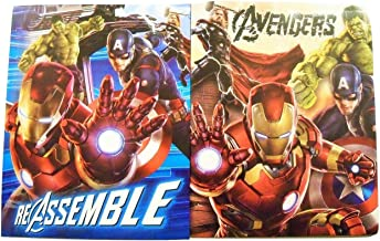 Innovative Design 101 Marvel The Avengers Age of Ultron 2 Folder Set ~ Re-Assemble, Earth's Mightiest Heroes