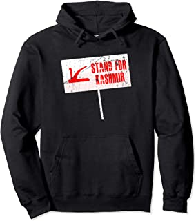 Stand For Kashmir - Protest For Kashmiri's Freedom  Pullover Hoodie