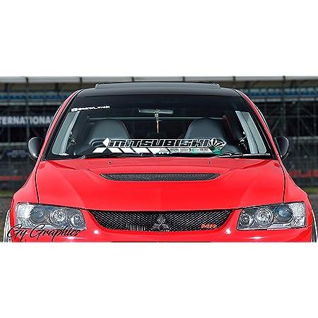 Mitsubishi GTO Active Aero decal//Vinyl Autocollant-Blanc