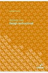 Tópicos em design instrucional (Série Universitária) eBook Kindle