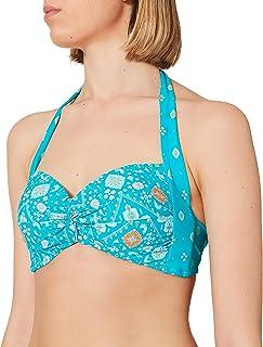 Seafolly Women's Inka Gypsy Twist Soft Cup Halter Bikini Top