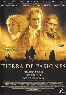 Tierra de pasiones (edición alquiler)