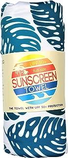 Luv Bug Company UPF 50+ Sunscreen Towel Full Size (Palm Leaf)