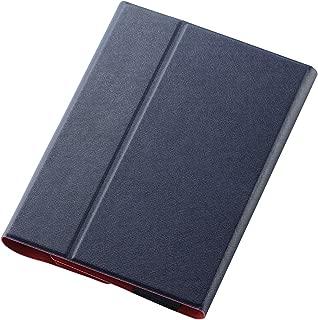 ELECOM YOGA Tab 3 10 手帳型ケース イタリアンレザー 薄型 ブルー TB-LEY31AWDTBU