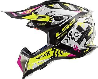 LS2 MX470 Subverter Triplex Motocross Helm M 57/58