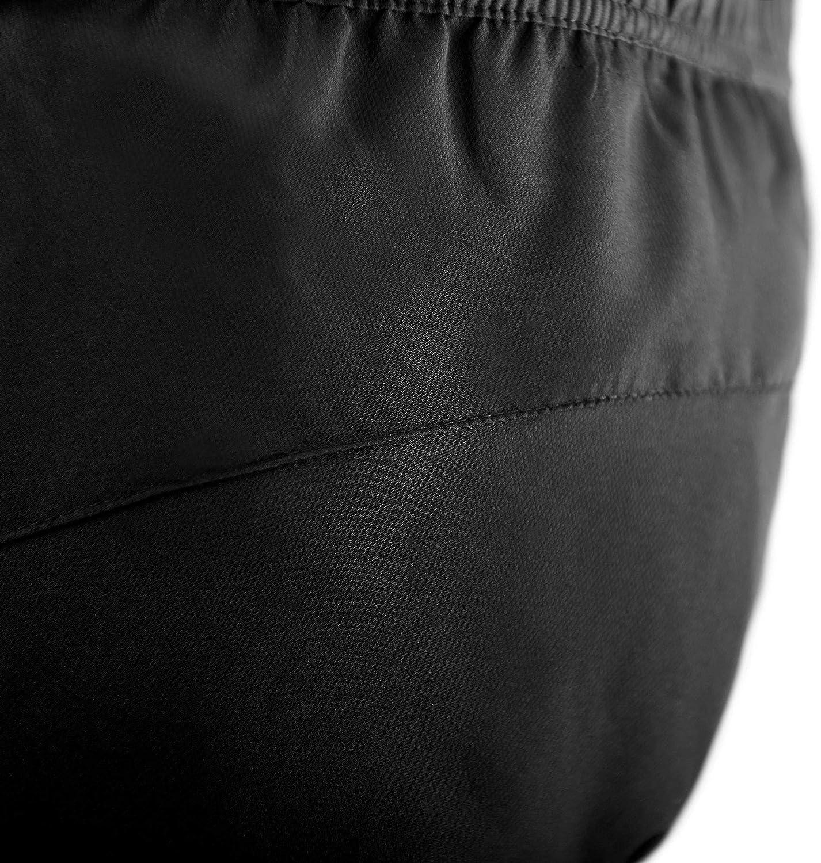 MichaelaX-Fashion-Trade Pantalon uni pour femme Nuit/Blanc (00333).