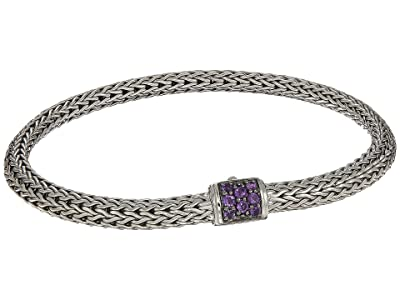 John Hardy Classic Chain 5mm Bracelet with Gemstone (Silver) Bracelet