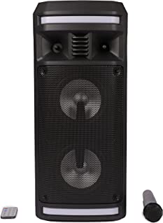 Impex - Portable Outdoor Speaker System - Mic & Remote Control (P10)