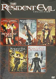 The Resident Evil Collection Resident Evil / Resident Evil: Apocalypse / Resident Evil: Extinction / Resident Evil: Afterlife / Resident Evil: Retribution