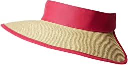 UBV037 Roll Up Visor with Canvas and Terry Cloth Sweatband