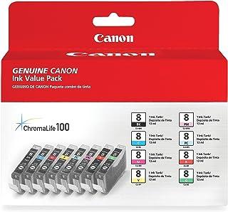 Canon CLI-8 8 Color Multi Pack Compatible to Pro9000, Pro9000 Mark II