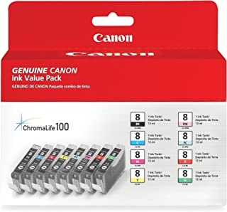 Canon CLI-8 8 Color Multi Pack Compatible to Pro9000, Pro9000 Mark II