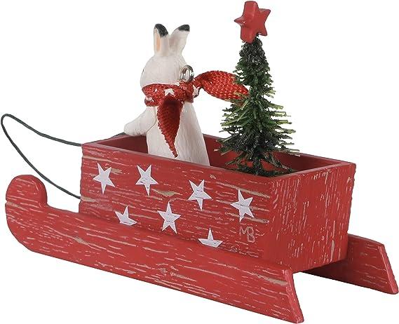 Grandson Sledding Snowman 2018 Hallmark Keepsake Christmas Ornament NEW