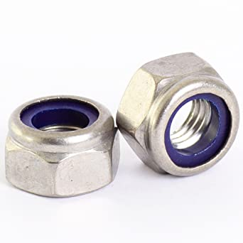 Bolt Base A2 Stainless Steel Hex Full Nuts M2.5 0.45mm Pitch 5