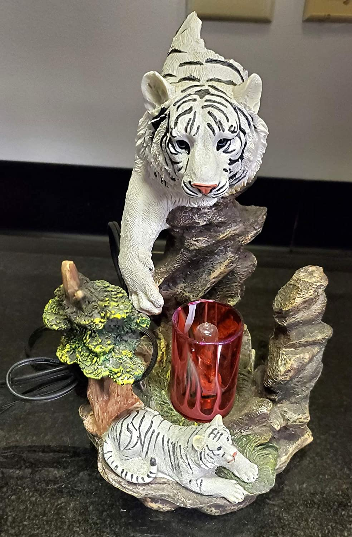 25 Home Decor New White Tiger w Tart Super-cheap High quality new Burner Warmer Oil Fragrance