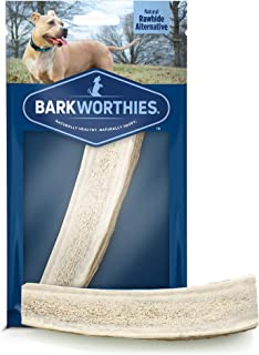 Barkworthies Hand Selected, Naturally Shed Split & Whole Elk Antlers - Premium Long Lasting, Odor Free Dog Chews for All Dog Sizes and Breeds - No Chemical Treatments, No Added Preservatives