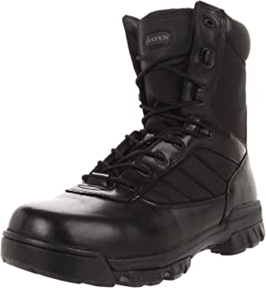 Bates Men's 8'' Tactical Sport Side Zip Industrial Shoe