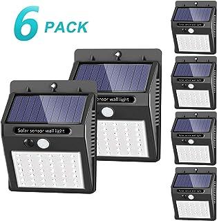 42 LED / 3 Modos SEZAC Luces solares Luces con sensor de