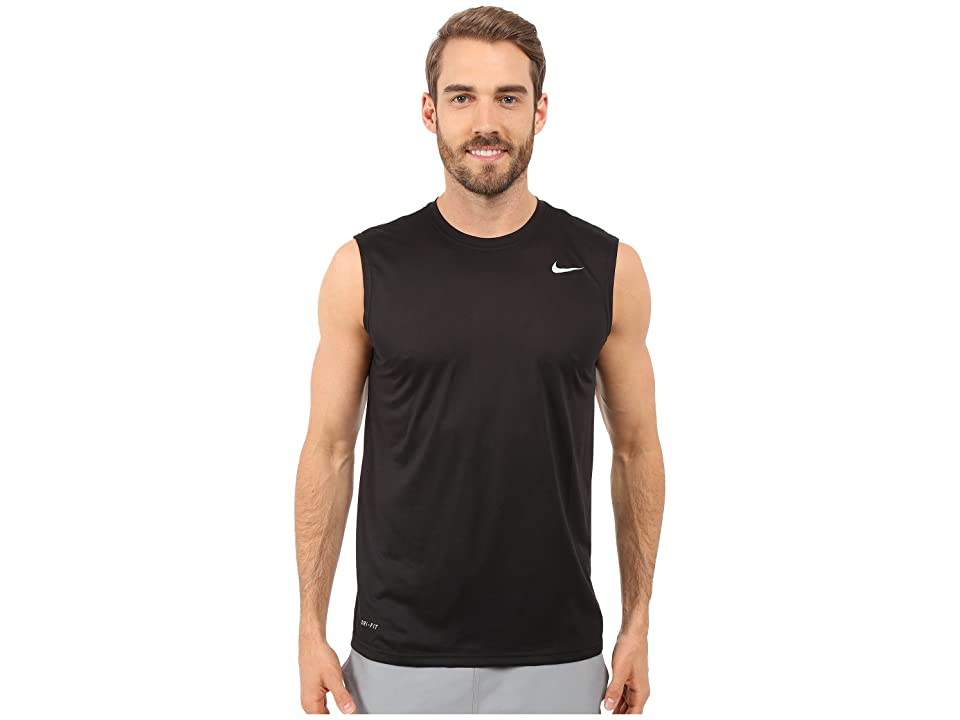 Nike Legend 2.0 Sleeveless Tee (Black/Black/Matte Silver) Men