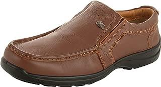 Allen Cooper ACFS-33525 Men's Tan Leather Loafers