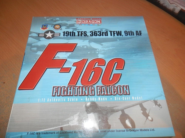 Precio al por mayor y calidad confiable. DRAGON WINGS 1 72 F-16C Fighting Falcon 19TH TFS 363RD 363RD 363RD TFW 9TH AF  producto de calidad