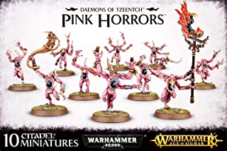 Games Workshop Warhammer 40K - Age Sigmar Daemons Tzeentch Pink Horrors (10 Miniatures)