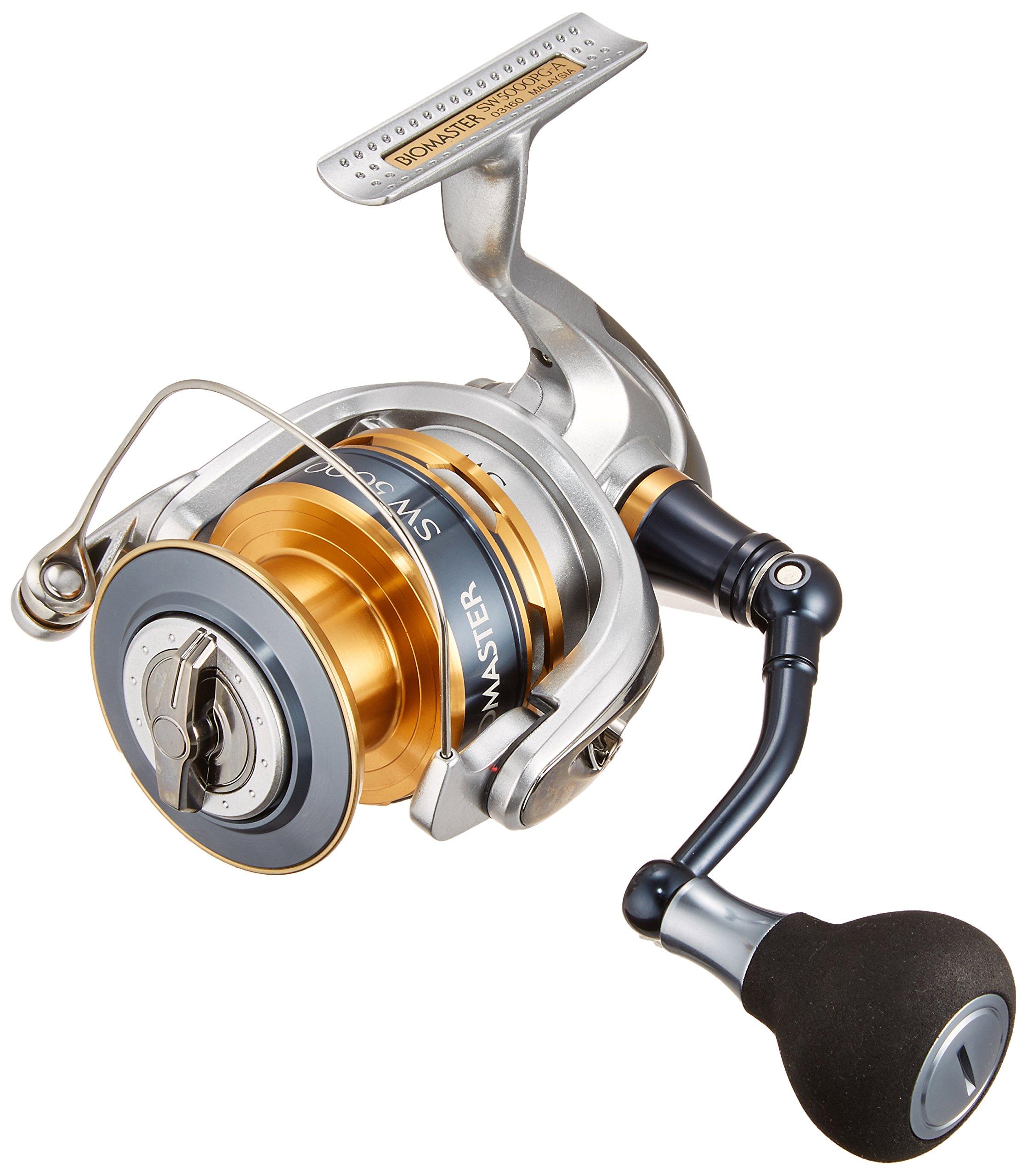 Shimano BIOMASTER 5000 SW-A PG 4.8 - Carrete de pesca (para caña ...