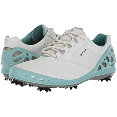 ECCO Golf Cage GTX (White/Aquatic) Women