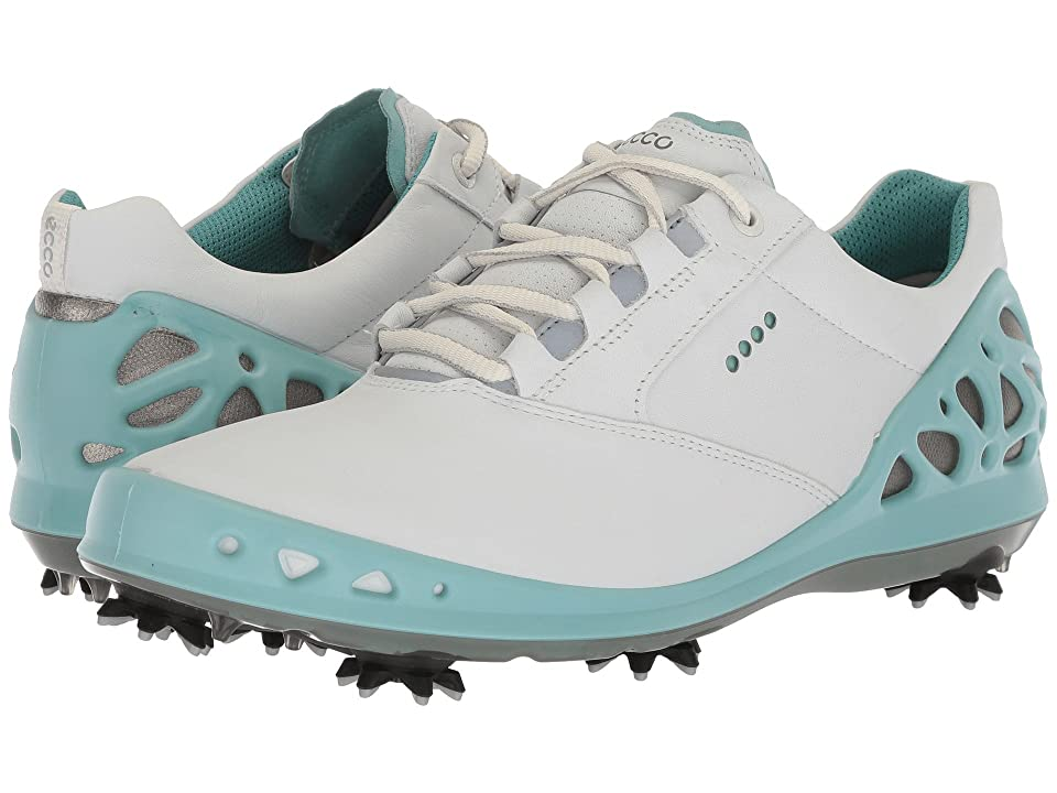 ECCO Golf Cage GTX (White/Aquatic) Women