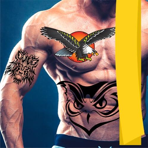 Diseño de la foto del fabricante del tatuaje