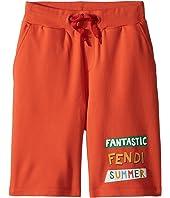'Fantastic Fendi Colours' Jogging Shorts (Little Kids)