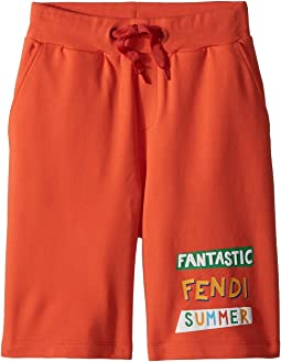 Fendi Kids - 'Fantastic Fendi Colours' Jogging Shorts (Little Kids)