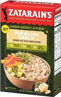 Zatarain's Parmesan Garlic Brown Rice With White Beans, 5.7 oz