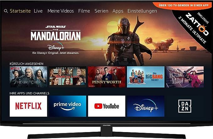 Grundig 55 GUB 8040 55 Zoll 4K-Fernseher bis 1000 Euro Test