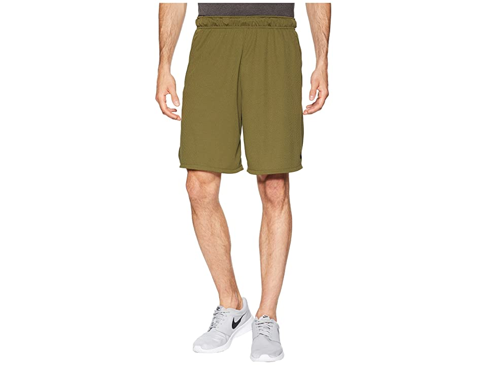 Nike Dri-FIT 9 Training Short (Olive Canvas/Black) Men