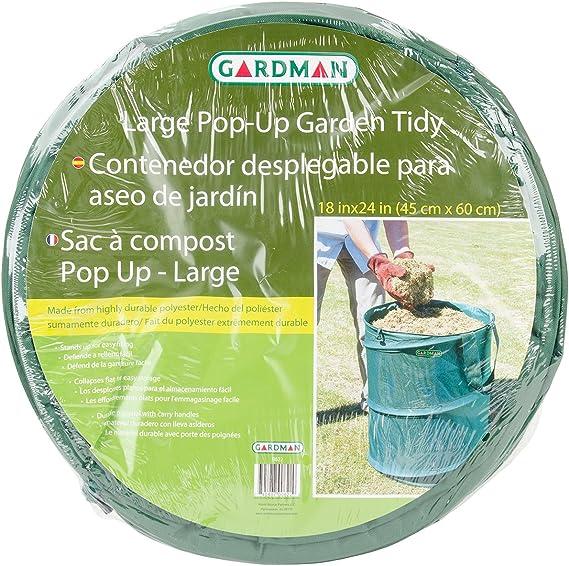 53/Gallon Pop up Garden Bag Pieghevole e Durevole per Prato e Lama Riutilizzabile FGASAD Garden Garbage Bag
