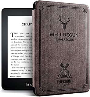 Case for Previous Kindle Paperwhite - (Not Fit All-New Paperwhite 2018 10th Gen), Coffee