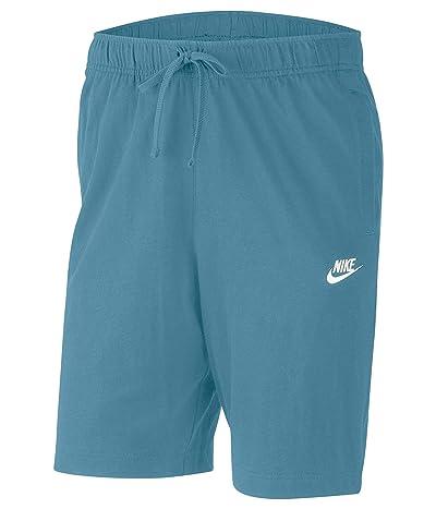 Nike NSW Club Shorts Jersey (Cerulean/White) Men