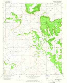 New Mexico Maps - 1963 Mesitael Gato, NM USGS Historical Topographic Map - Cartography Wall Art - 35in x 44in
