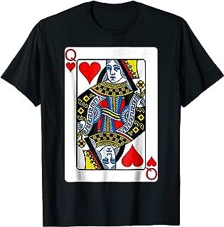 Best queen of hearts shirt Reviews