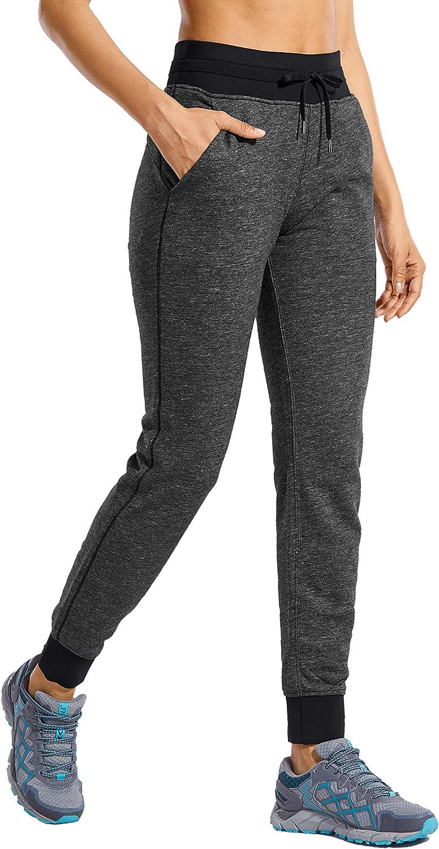 CRZ Popular brand YOGA Latest item Women's Cotton Drawstring Sweatpants Waist Elastic Jogg