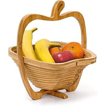Eventualx Corbeille /À Fruits Fer Lavable Collations Panier De Rangement R/éutilisable Bol De Fruits pour Salon Mariage Bureau Bureau