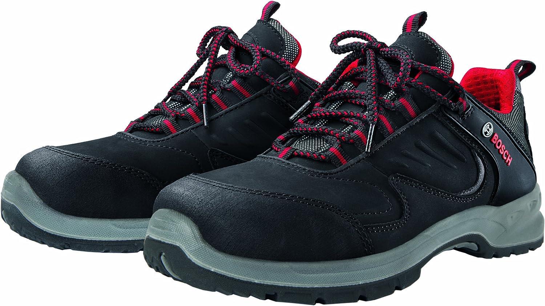 Bosch Professional Safety shoes S1P WRSH S1P Colour  Red Black  Size  EU 40 6 Uk
